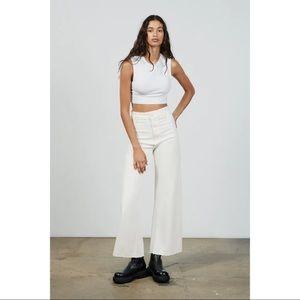 ZARA Wide leg jeans pants